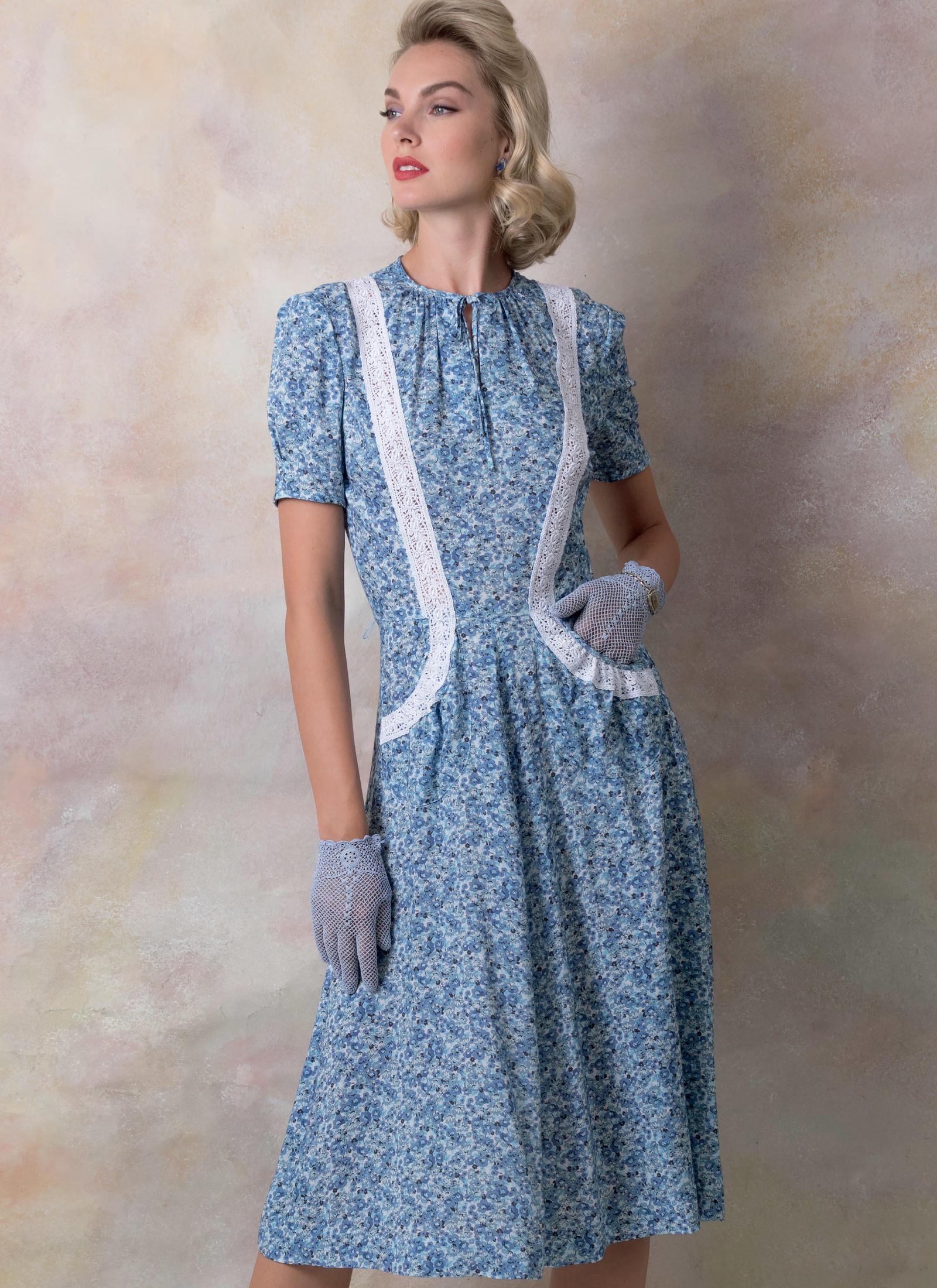 Elegante Vintage Mode zum Nähen von Vogue jetzt bei uns bestellen ...