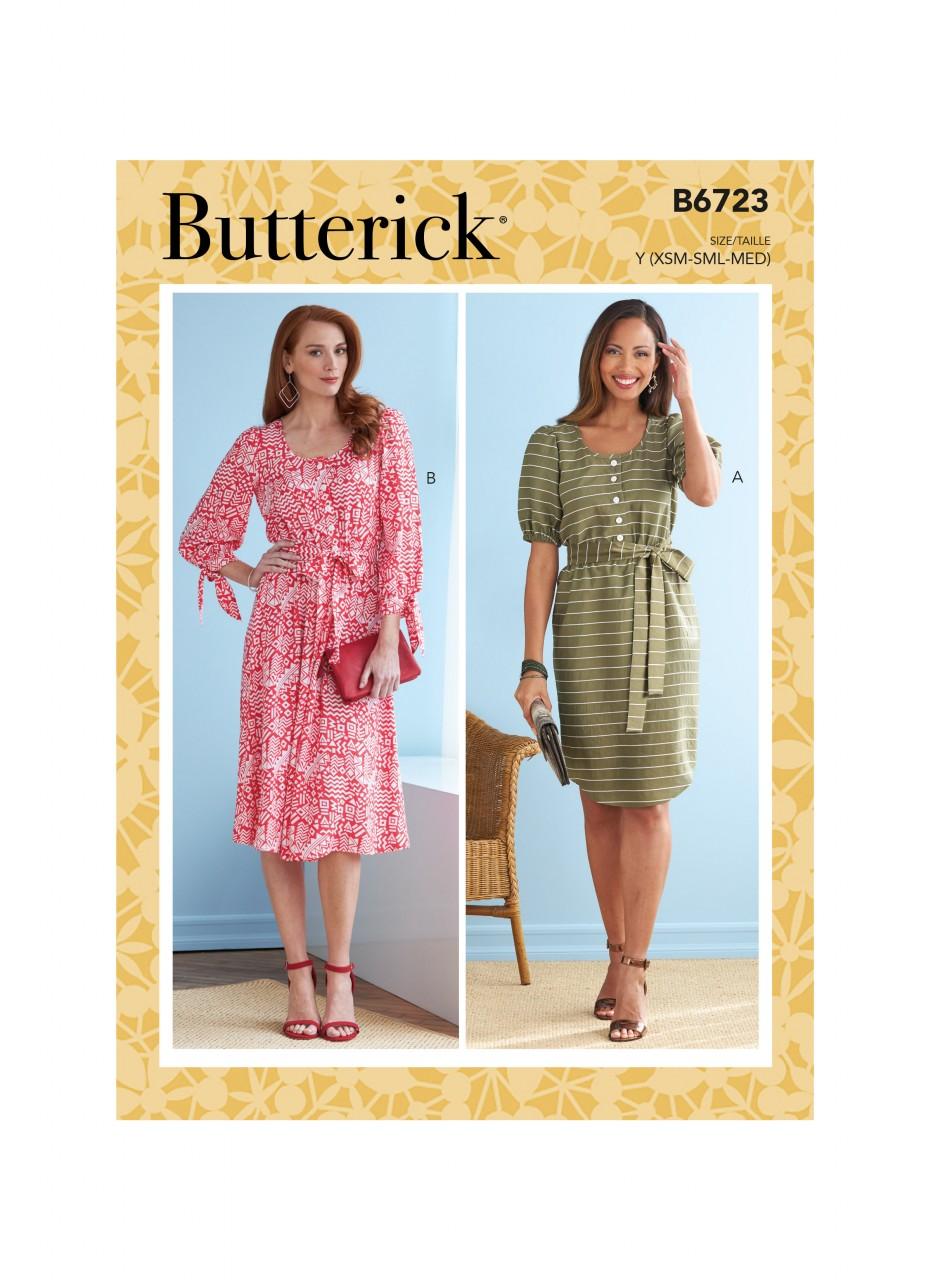 Kleid mit längeren Ärmeln   Kleider   DAMEN   BUTTERICK ...